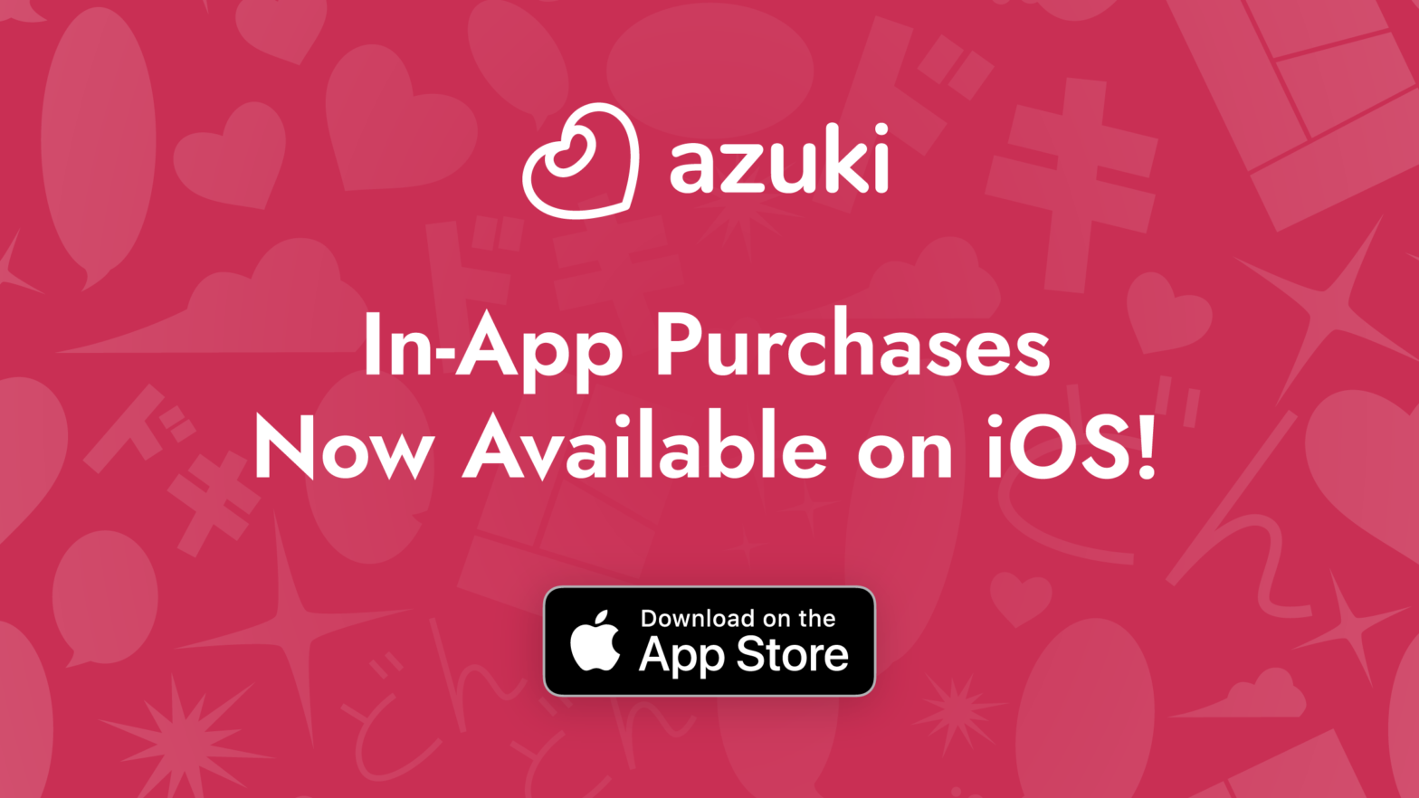 Azuki: In-App Purchases New Available on iOS! Download on the App Store.